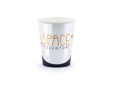 Space Adventure Paper Cups